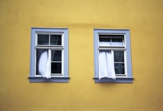offenes fenster (dekoratives element)